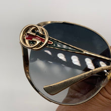 Load image into Gallery viewer, Gucci Oval Sunglasses