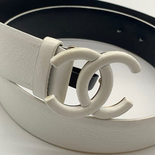 Load image into Gallery viewer, Chanel White Unisex Belt