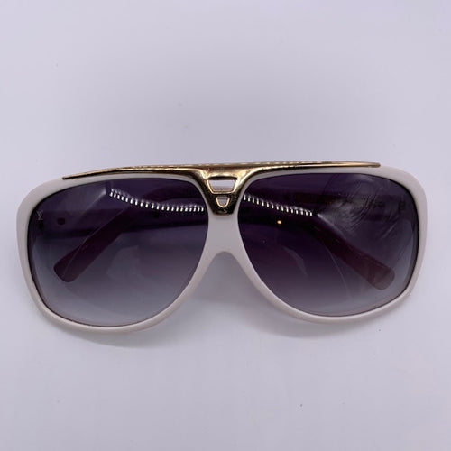 Louis Vuitton White Sunglasses