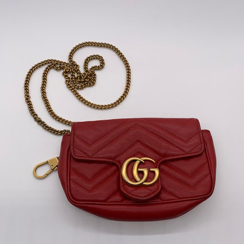 Gucci Red Crossbody Bag