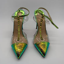 Load image into Gallery viewer, Christian Louboutin Green Heel