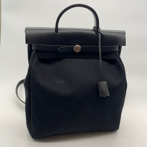 Hermes Black Backpack