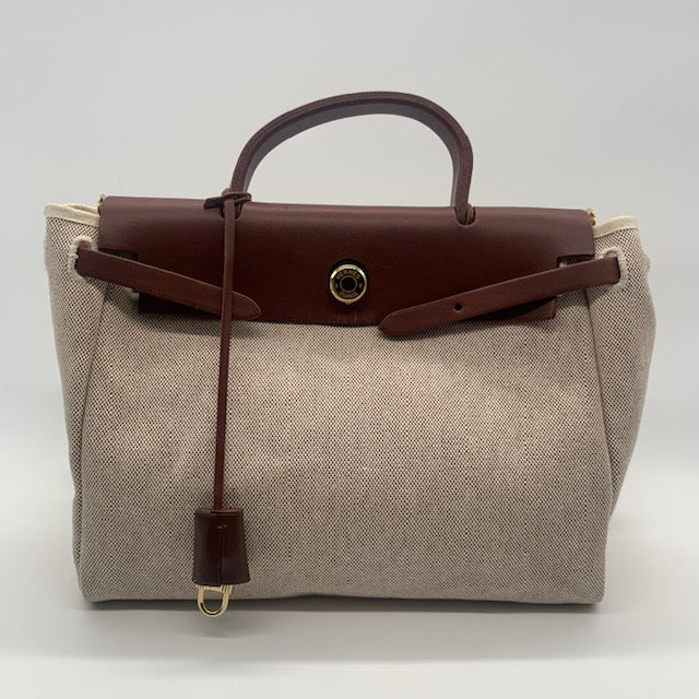Hermes Brown Herbag