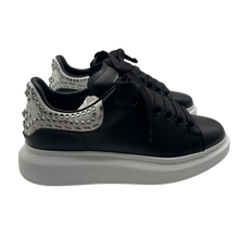 Load image into Gallery viewer, Alexander McQueen Black Bejeweled Sneaker