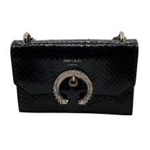 Load image into Gallery viewer, Jimmy Choo Black Chain Bag