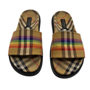Burberry Multi Color Sandals