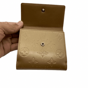 Louis Vuitton Gold Wallet