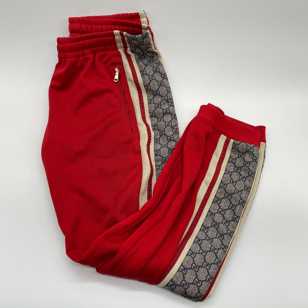 Gucci Red Jogging Pants