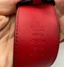 Load image into Gallery viewer, Gucci Red Belt