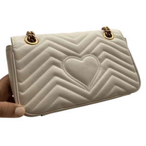 Gucci Creme Shoulder Bag