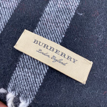 Load image into Gallery viewer, Burberry Classic Giant Check Black Print Scarf