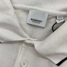 Load image into Gallery viewer, Burberry White Polo