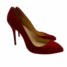 Load image into Gallery viewer, Christian Louboutin Dark Red Heel