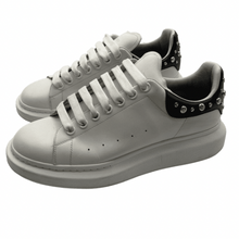 Load image into Gallery viewer, Alexander McQueen Black/White Sneaker