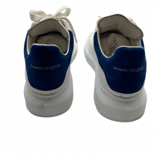 Load image into Gallery viewer, Alexander McQueen White/Blue Sneaker