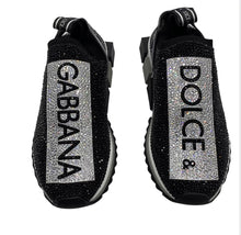 Load image into Gallery viewer, Dolce & Gabbana Sorrento Crystal Sneaker