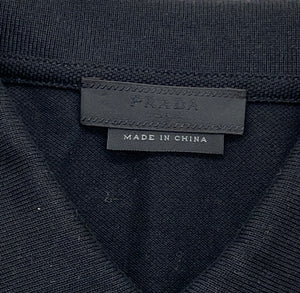 Prada Black Polo