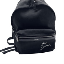 Load image into Gallery viewer, Yves Saint Laurent Black BackPack