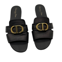 Load image into Gallery viewer, Dior Black Slides