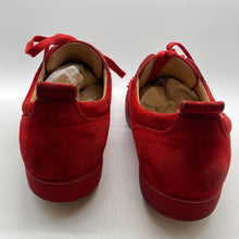 Load image into Gallery viewer, Christian Louboutin Red Suede Sneaker