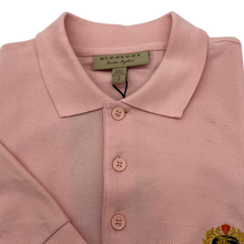 Load image into Gallery viewer, Burberry Pink Polo