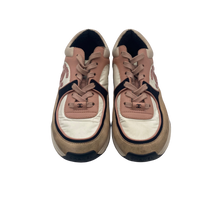 Load image into Gallery viewer, Chanel Pink and White Trainer