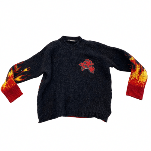 Palm Angels Flame Men's Sweater