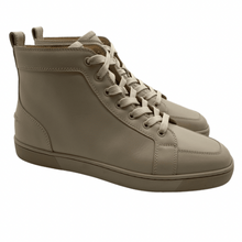 Load image into Gallery viewer, Christian Louboutin Beige HighTop Sneaker