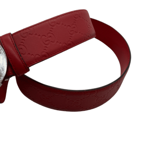 Gucci Red Belt