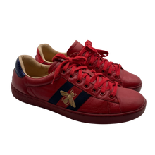 Load image into Gallery viewer, Gucci Red Ace Sneakers