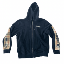 Load image into Gallery viewer, Burberry Black Zip Hoodie