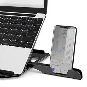 Laptop Computer With Phone Stand