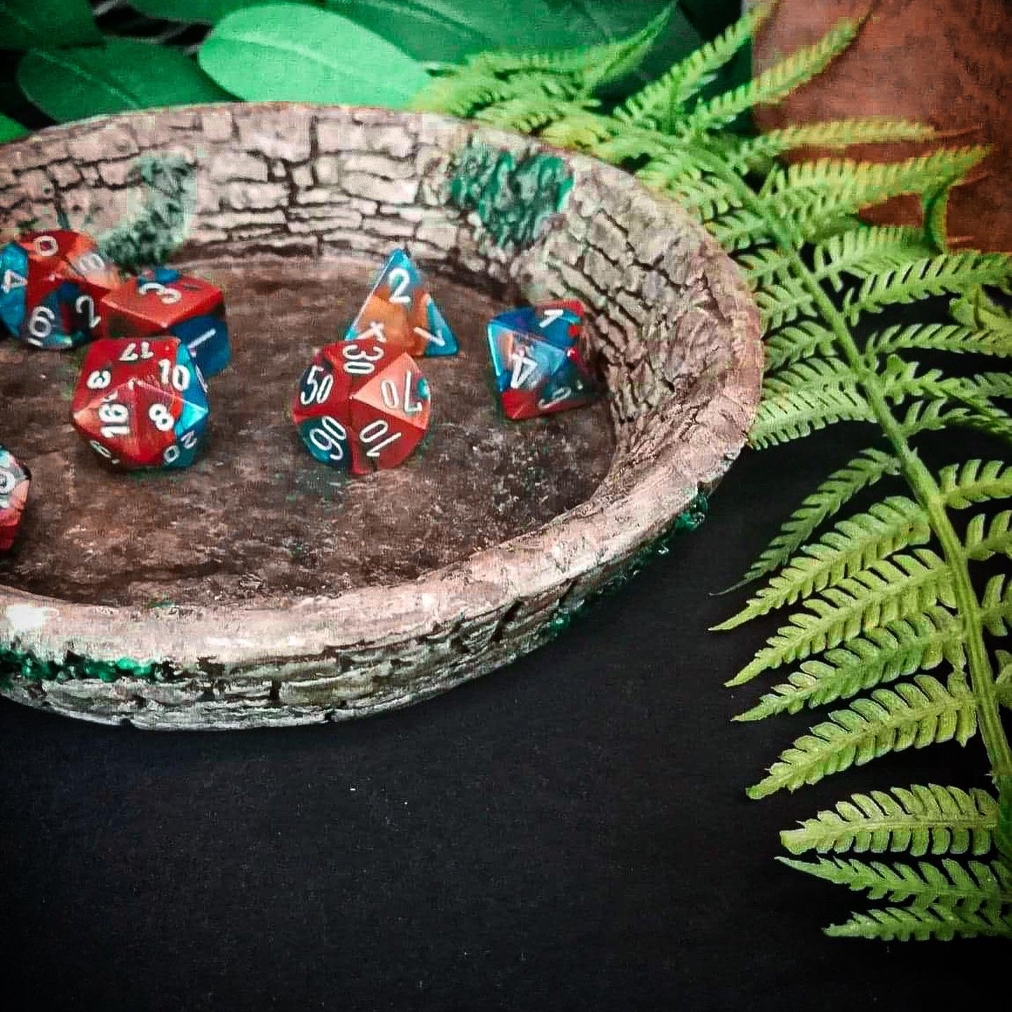 Stone and Ivy DnD Dice Bowl