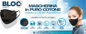Mascherina CARRERA  NCN MR2 Carbon Nanoclusters