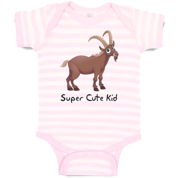 Boy & Girl Baby Bodysuit Super Cute Kid Farm Funny Striped Clothes