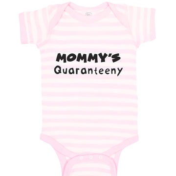 Boy & Girl Baby Bodysuit Mommy's Quarantiny Distancing Quarantine