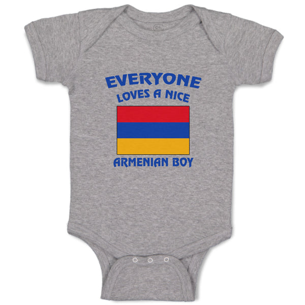 Baby Clothes Everyone Loves A Nice Armenian Boy Countries Baby Bodysuits Cotton