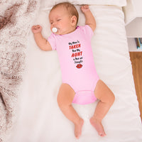 Boy & Girl Baby Bodysuit My Mom Is Taken but Aunt Hot and Single Funny