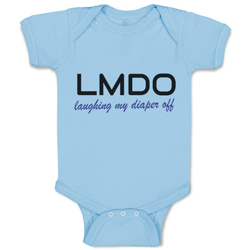 Baby Clothes Lmdo Laughing My Diaper off Funny Funny Humor Baby Bodysuits Cotton