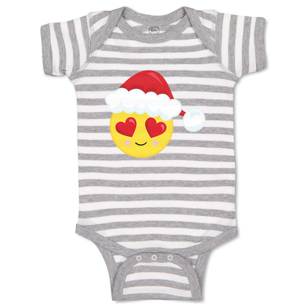 Baby Clothes Christmas Face Fall in Love Baby Bodysuits Boy & Girl Cotton