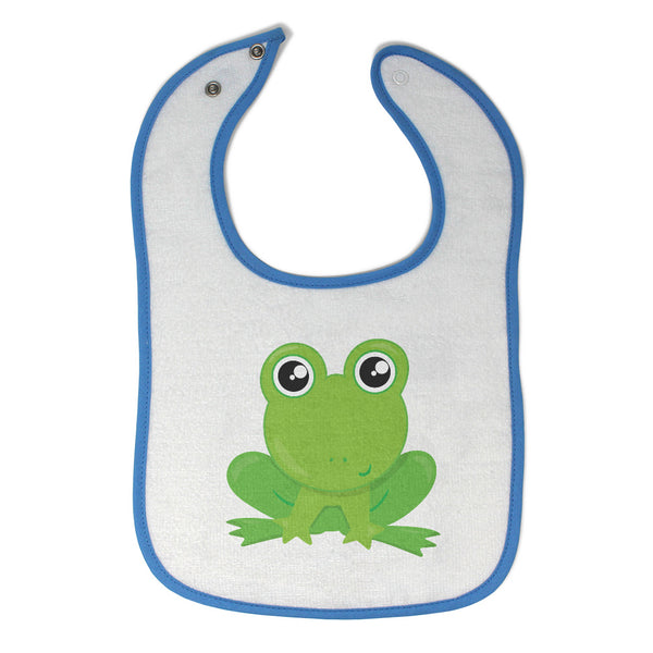 Cloth Bibs for Babies Frog Funny Baby Accessories Burp Cloths Cotton - Cute Rascals