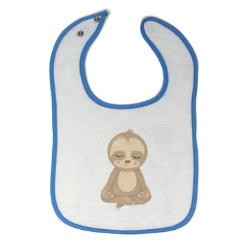 Cotton Toddler & Baby Bibs Sloth Yoga Safari Items for Girl Boy