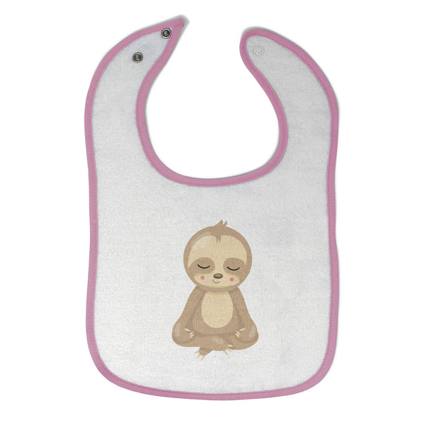 Cloth Bibs for Babies Sloth Yoga Safari Baby Accessories Burp Cloths Cotton