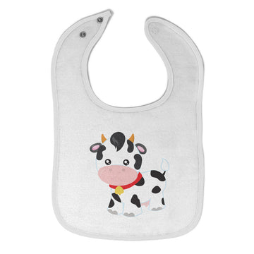 Cloth Bibs for Babies Cow Bell Farm Baby Accessories Burp Cloths Cotton