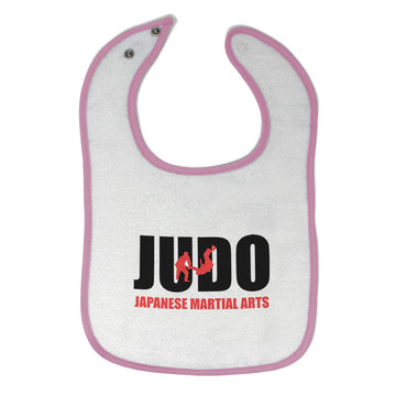 Cloth Bibs for Babies Judo Japanese Martial Arts Sport Baby Accessories Cotton