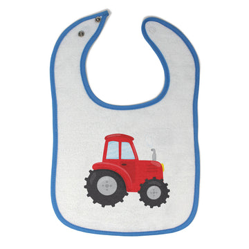 Toddler & Baby Bibs Red Tractor 2 Items for Girl Boy Wsp, Wlb, Wb, W