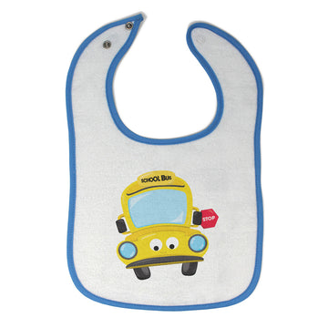 Cloth Bibs for Babies School Bus 2 Baby Accessories Burp Cloths Cotton