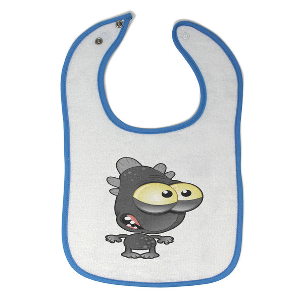 Cloth Bibs for Babies Monster Fish Cartoon Character Baby Accessories Cotton - Cute Rascals