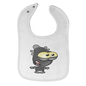Toddler & Baby Bibs Monster Fish Cartoon Character Items for Girl Boy