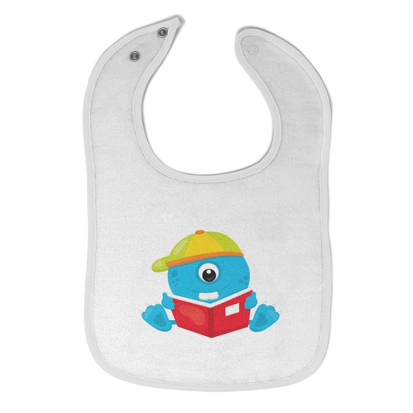 Cloth Bibs for Babies Student Monster Blue Characters Monsters Baby Accessories - Cute Rascals